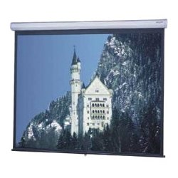 "Da-Lite - 36437 - Da-Lite Model C Manual Projection Screen - 94"" - 16:10 - Ceiling Mount, Wall Mount - 50"" x 80"" - Matte White"