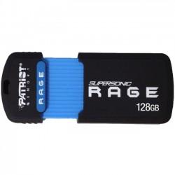 Patriot Memory - PEF128GSRUSB - Patriot Memory 128GB Supersonic Rage XT USB 3.0 Flash Drive - 128 GB - USB 3.0 - Retractable, Drop Proof, Wear Resistant