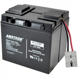 Amstron - AUP-7 - Amstron Replacement Backup Battery for APC RBC7 - 17000 mAh - 24 V DC - Sealed Lead Acid (SLA)