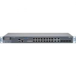 Juniper Networks - ACX1000-DC - Juniper ACX1000 Universal Access Router - 20 Ports - Management Port - 4 Slots - Gigabit Ethernet - T-carrier/E-carrier - 1U - Rack-mountable