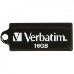 Verbatim / Smartdisk - 44050 - Verbatim 16GB Micro USB Flash Drive - Black - 16GB - USB - Black - 1 Pack