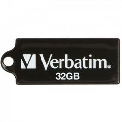 Verbatim / Smartdisk - 44051 - Verbatim 32GB Micro USB Flash Drive - Black - 32 GB - Black - 1 Pack