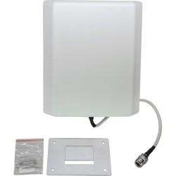 Premiertek.net - ANT-P8025-NF-10 - Premiertek Dual Band Panel Antenna - 10 dBi - Cellular Network, Wireless Data NetworkWall Mount - Directional