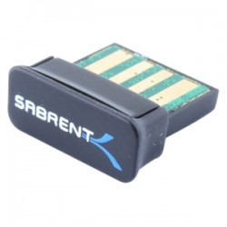 Sabrent - BT-USBX - Sabrent - Bluetooth Adapter for Desktop Computer - USB - 2.40 GHz ISM - External