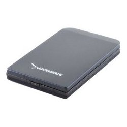 Sabrent - EC-25AP - Sabrent Drive Enclosure External - Black - 1 x Total Bay - 1 x 2.5 Bay - USB 3.0