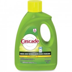 Procter & Gamble - 28193 - Cascade Gel Dishwasher Detergent - Gel - 120 oz (7.50 lb) - Lemon Scent - 4 / Carton - White