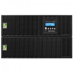 CyberPower - OL6000RT3U - CyberPower Smart App Online OL6000RT3U 6000VA 200-240V Pure Sine Wave LCD Rack/Tower UPS - 5.4Minute Full Load - 2 x NEMA L6-20R, 2 x NEMA L5-30R
