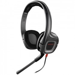 Plantronics - 85750-01 - Plantronics GameCom 307 - Stereo - Black - Mini-phone - Wired - 20 Hz - 20 kHz - Over-the-head - Binaural - Ear-cup - 6.56 ft Cable - Noise Cancelling Microphone