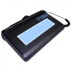 Topaz Systems - T-LBK460-HSB-R - Topaz SigLite T-L460 Electronic Signature Capture Pad - Backlit LCD - 4.40 x 1.30 Active Area LCD - Backlight - USB - 410 PPI