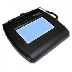 Topaz Systems - T-LBK755-BHSB-R - Topaz SignatureGem T-L755 Signature Capture Pad - Backlit LCD - Active Pen - 4.40 x 2.50 Active Area LCD - Backlight - USB - 410 PPI