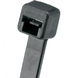 Panduit - PLT4S-M30 - Panduit Pan-Ty Cable Tie - Tie - Black - 100 Pack - 50 lb Loop Tensile - Nylon 6.6