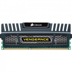 Corsair - CML4GX3M1A1600C9 - Corsair Vengeance 4GB DDR3 SDRAM Memory Module - 4 GB (1 x 4 GB) - DDR3 SDRAM - 1600 MHz DDR3-1600/PC3-12800 - Non-ECC - Unbuffered - 240-pin - DIMM