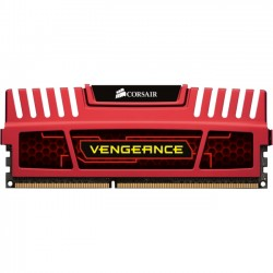 Corsair - CML8GX3M2A1600C9R - Corsair Vengeance 8GB DDR3 SDRAM Memory Module - 8 GB (2 x 4 GB) - DDR3 SDRAM - 1600 MHz - 1.50 V - Unbuffered - 240-pin