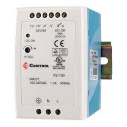 Comtrol - 32122-4 - Comtrol Power Supply PS1100A - 110 V AC, 220 V AC Input Voltage - DIN Rail - 88% Efficiency - 96 W