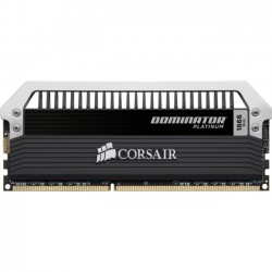Corsair - CMD32GX3M4A1866C10 - Corsair Dominator Platinum 32GB DDR3 SDRAM Memory Module - 32 GB (4 x 8 GB) - DDR3 SDRAM - 1866 MHz - 240-pin