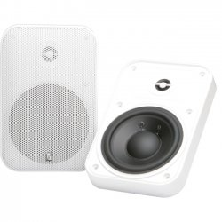 Poly-Planar - MA905W - Poly-Planar Platinum MA905 100 W RMS - 200 W PMPO Outdoor Speaker - 2-way - 2 Pack - White - 55 Hz to 20 kHz - 4 Ohm