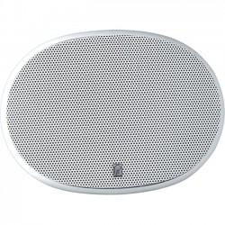 """Poly-Planar - MA6900W - Poly-Planar Platinum MA6900 Speaker - 100 W RMS - 200 W PMPO - 3-way - 2 Pack - 49 Hz to 20 kHz - 4 Ohm - 0.24"""" x 0.35"""" - Marine"""