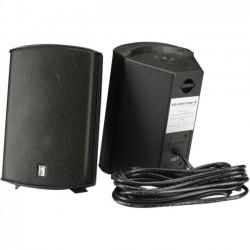 Poly-Planar - MA7500B - Poly-Planar MA7500 100 W RMS Speaker - 2-way - 2 Pack - Black - 60 Hz to 20 kHz - 4 Ohm