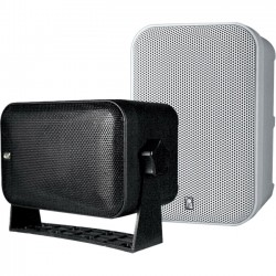 Poly-Planar - MA9060B - Poly-Planar MA9060 60 W RMS Outdoor Speaker - 2-way - Black - 55 Hz to 20 kHz - 4 Ohm - Surface Mount