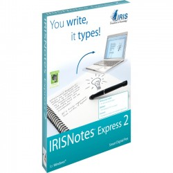 IRIS - 457488 - I.R.I.S. IRISnotes Express 2 Digital Pen - Infrared Pen - 30 Hour Battery Run Time - PC