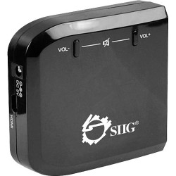 SIIG - CB-H20C11-S1 - SIIG Micro HDMI to VGA with Audio Adapter - Functions: Signal Conversion - Yes - 1 Pack