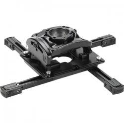 InFocus - PRJ-MNT-INST - InFocus PRJ-MNT-INST Ceiling Mount for Projector - 50 lb Load Capacity - Steel - Black Wrinkle