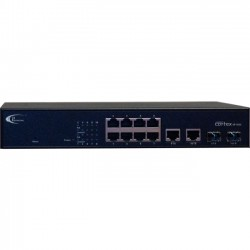 i3 International - SW10200 - i3International Annexxus Cortex Switch SW-10200 - 8 x Fast Ethernet Network, 2 x Gigabit Ethernet Expansion Slot - Manageable - 2 Layer Supported