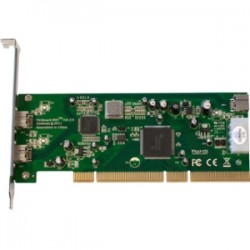 Global Marketing Partners - 1237 - Unibrain Fireboard-800 1394b 64 bit OHCI PCI Adapter - PCI - Plug-in Card - 3 Firewire Port(s) - 3 Firewire 800 Port(s)
