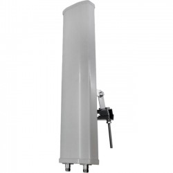 Premiertek.net - ANT-S2415-90-MIMO - Premiertek 2.4GHz 802.11bgn 15dBi Vertical Polarized Sector MIMO Antenna N Female - 15 dBi - Wireless Data Network, OutdoorSector - Directional