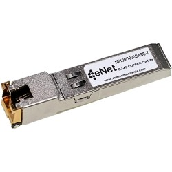 eNet Components - 10050-ENC - Extreme Compatible 10050 - Functionally Identical 10/100/1000BASE-T SFP N/A RJ45 Connector - Programmed, Tested, and Supported in the USA, Lifetime Warranty