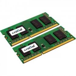 Crucial Technology - CT2K8G3S1339M - Crucial 16GB (2 x 8 GB) DDR3 SDRAM Memory Module - 16 GB (2 x 8 GB) - DDR3 SDRAM - 1333 MHz DDR3-1333/PC3-10600 - 1.35 V - Non-ECC - Unbuffered - 204-pin - SoDIMM