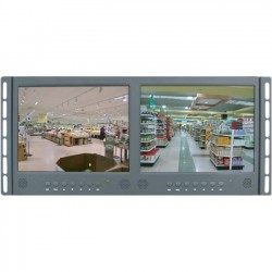 ViewZ - VZ-097RCR-D - ViewZ VZ-097RCR-D 9.7 LED LCD Monitor - 4:3 - 35 ms - 1024 x 768 - 0.26 Million Colors - 300 Nit - 600:1 - XGA - Speakers - VGA - 10 W - Black