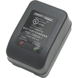 Power-Sonic - PSC12800A-C - Power-Sonic PSC-12800A-C AC Charger - 110 V AC, 220 V AC Input - 12 V DC Output - AC Plug - 1