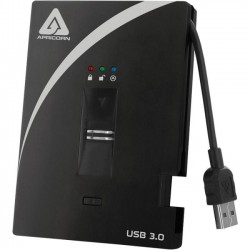 Apricorn - A25-3BIO256-500 - Apricorn Aegis Bio A25-3BIO256-500 500 GB External Hard Drive - USB 3.0 - 5400rpm - 8 MB Buffer