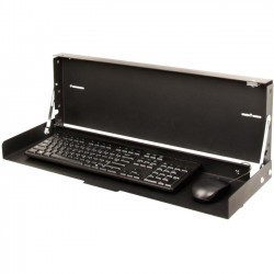 Rack Solution - 104-2795 - Rack Solutions Wall Mount for Keyboard - Black Powder Coat