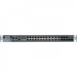 Juniper Networks - ACX2100-DC - Juniper ACX2100-DC Router - 24 Ports - Management Port - 8 Slots - Gigabit Ethernet - T-carrier/E-carrier - 1U - Rack-mountable
