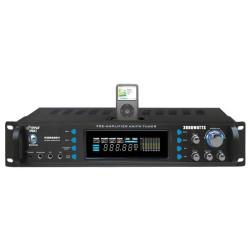 Pyle / Pyle-Pro - P2002ABTI - PylePro P2002ABTI Amplifier - 600 W RMS - 2 Channel - Black - 2000 W PMPO - AM, FM