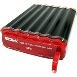 Buslink Media - CSC-1T-SU3 - Buslink CipherShield CSC-1T-SU3 1 TB External Hard Drive - SATA - eSATA, USB 3.0
