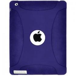 Amzer - AMZ90795 - Amzer Silicone Skin Jelly Case - Blue For Apple iPad 2 - iPad - Blue - Silicone