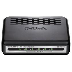 D-Link - GO-SW-5G - D-Link GO-SW-5G 5-Port Gigabit Unmanaged Desktop Switch - 2 Layer Supported - Desktop - 3 Year Limited Warranty