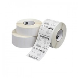 "Zebra Technologies - HC10000684 - Zebra Z-Select 4000D Thermal Label for IV Bags - 3.5"" Width x 1"" Length - Permanent - 6 Roll - Bright White"