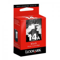 Lexmark - 18C2080 - Lexmark No.14A Black Ink Cartridge - Inkjet - 175 Page - Black