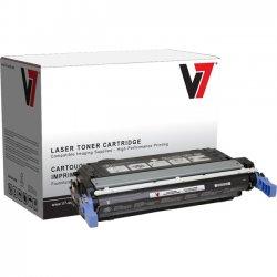 V7 - V74700B - Black Toner Cartridge, Black For HP Color LaserJet 4700, 4700N, 4700DN, 4700D