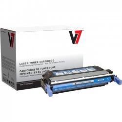 V7 - V74700C - Cyan Toner Cartridge, Cyan For HP Color LaserJet 4700, 4700N, 4700DN, 4700DTN
