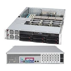 Supermicro - CSE-828TQ-R1200LPB - Supermicro SC828TQ-R1200LPB Chassis - Rack-mountable - Black