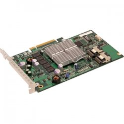 Supermicro - AOC-USAS-S8IR - Supermicro AOC-USAS-S8IR 8 Port SAS RAID Controller - 256MB DDR2 - PCI Express - Up to 300MBps Per Port