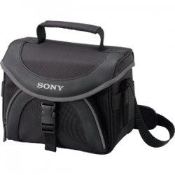 Sony - LCS-X20 - Sony LCS-X20 Camcorder Case - Nylon, Polyamide - Black