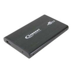 "Sabrent - SBT-EKU25 - Sabrent SBT-EKU25 Hard Drive Enclosure - 1 x 2.5"" - 9.5 mm Height Internal - External"