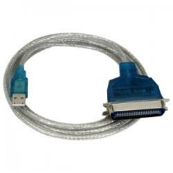 Sabrent - SBT-UPPC - Sabrent USB to Parallel Printer Cable Adapter - Parallel/Serial - 6 ft - Male USB - Male Parallel