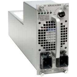 Cisco - N7K-AC-6.0KW - Cisco - Power supply - hot-plug / redundant ( plug-in module ) - AC 110-240 V - 6000 Watt - for Nexus 7000, 7010